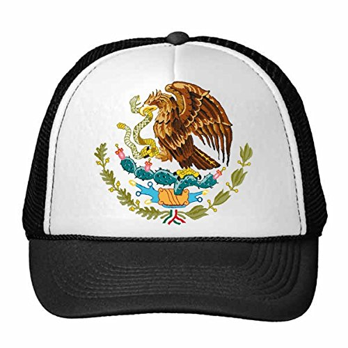 DIYthinker Nylon Gorra de béisbol México Emblema Nacional símbolo del país Modelo del Signo Gorros Gorro Casquillo Adulto Ajustable