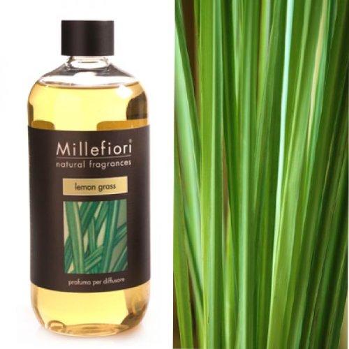 Millefiori Milano Nachfüllflasche Raumduft Natural Fragrance Lemon Grass (0,5l)