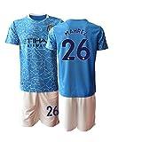 TAOZHUANG 20/21 Niños MAHREZ 26# Camiseta de fútbol Camiseta de Jugador (Niños de 4 a 13 años) (22)