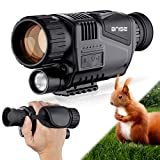 BNISE Infrared Camera Night Vision Monocular 8X40 for Day and Night - HD