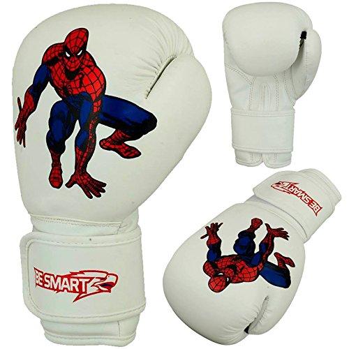 besmart Kinder Boxhandschuhe Junior Pad 113,4g, 170,1Boxsack Kinder MMA Youth BL, Damen Herren Kinder, weiß