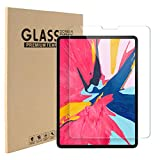 2 PACK Screen Protector for iPad Air 4 10.9 Inch, iPad Pro 11 Inch 2020 & 2018 Release, Bubble-Free Tempered Glass Screen film for iPad Air 4th Generation, Apple Pencil & Face ID Compatible