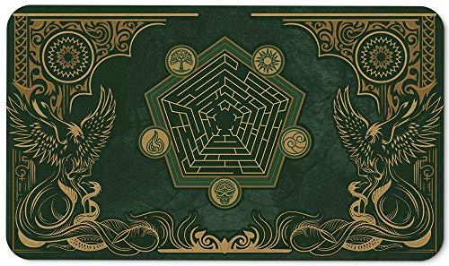 Paramint Emerald Phoenix - Tappetino da Gioco MTG - Compatibile con Tappetino da Gioco Magic The Gathering - Gioca a MTG, YuGiOh, Pokemon, TCG - Disegni e Accessori Originali del Tappeto da Gioco