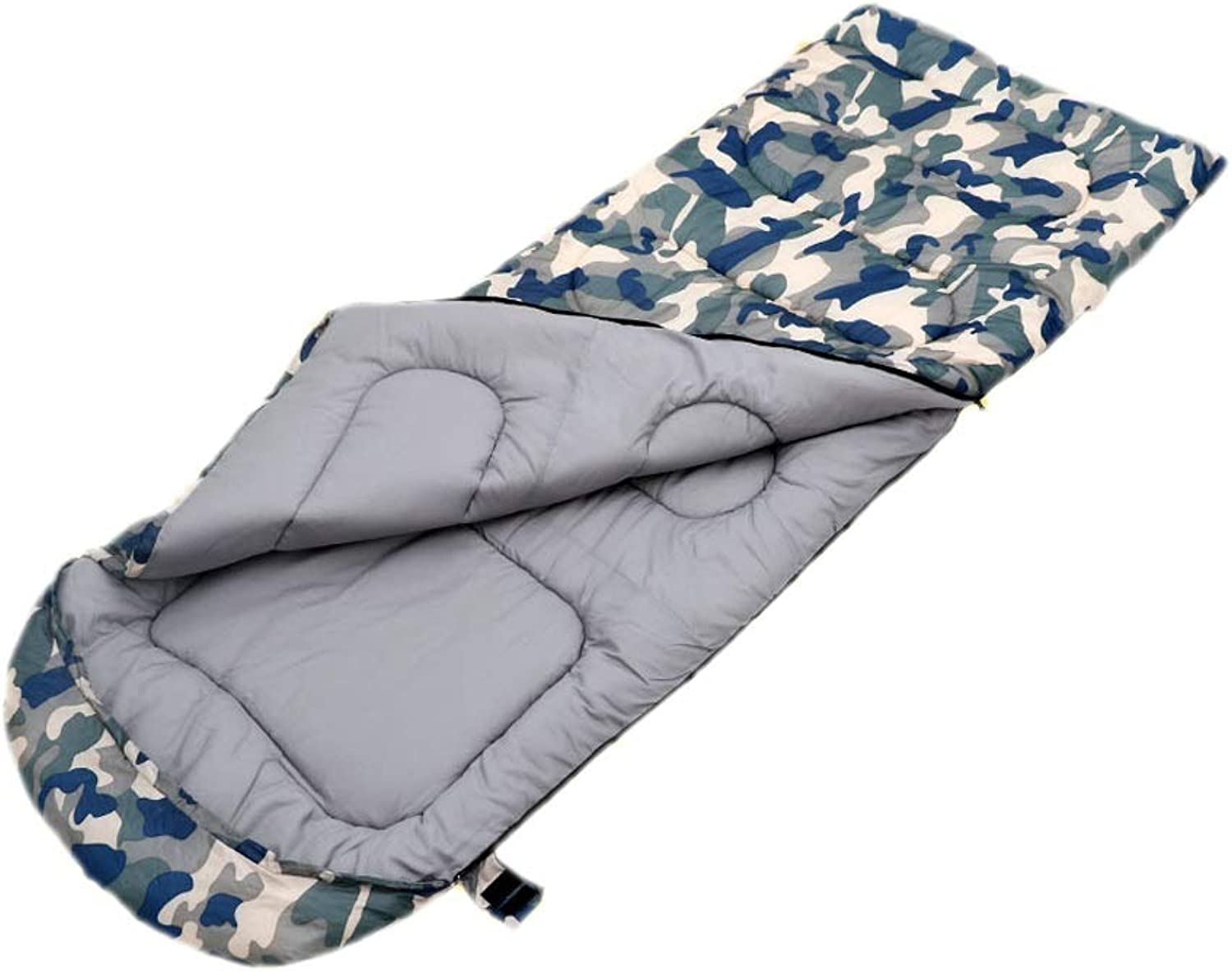Camouflage Camping Sleeping Bag Leisure Travel Mountaineering Office Lunch Break Study Room Cold Equipment Removable Lining