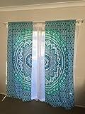 Cortina para colgar en la pared, diseño de mandala indio de Gesham, para...