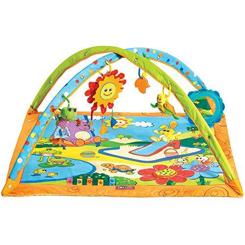Gymini Sunny Day de Tiny Love, Manta Musical de Juegos para Bebés y Gimnasio de Actividades para recién Nacidos, Apta desde el Nacimiento, +0 meses