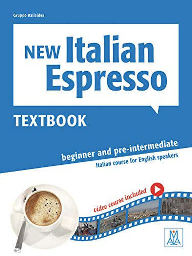 New Italian Espresso: Textbook + DVD-ROM + ebook - Beginner/pre-intermediate