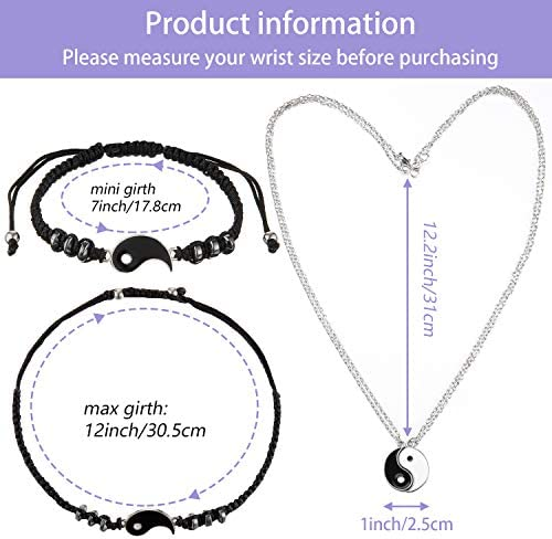4 piece bff necklace _image3