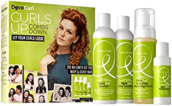 Devacurl Curls up Set - For Wavy and Curly Hair