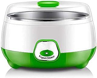 WGNHM Yogurt machine,Automatic Yogurt Maker Machine with Constant Temperature Control,Stainless Steel Design (Color : Green)