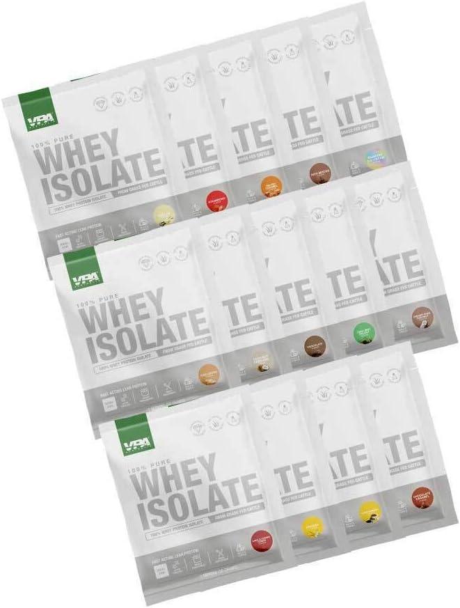 VPA Whey Isolate [Alternative dealer] WPI famous Pack Sample 14 Samples