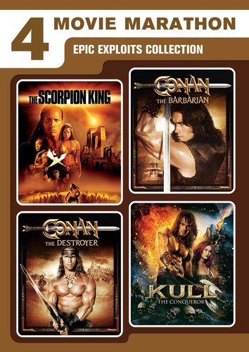 4-Movie Marathon: Epic Exploits Collection (The Scorpion King / Kull the Conqueror / Conan the Barbarian / Conan the Destroyer)