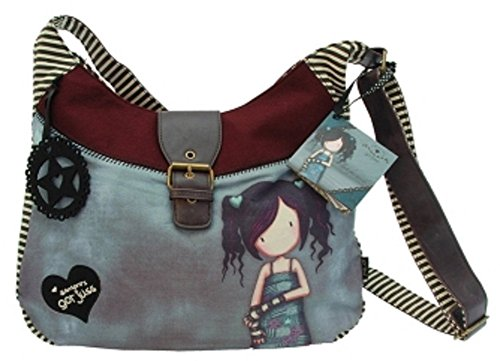 "Gorjuss - Borsa di lana Slouchy Gorjuss ""Lost For Words"""