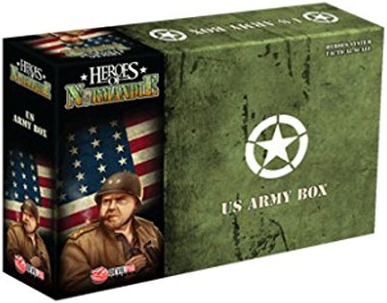 Heroes of Normandie - Army Box US Board Game by IELLO