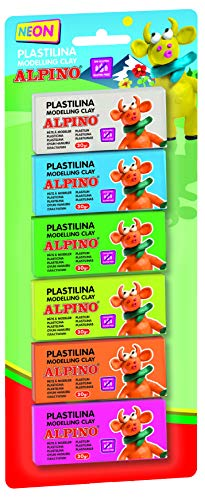 Alpino DP000936 – Blister 6 unidades de plastilina