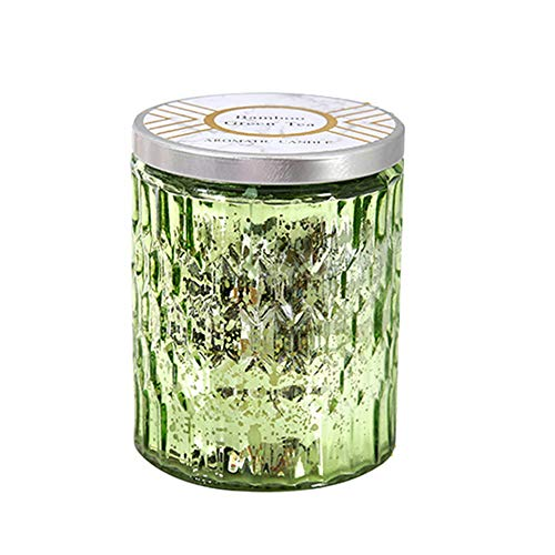Owl's-Yard Scented Aromatherapy Candle Soy Wax Candles Citronella Candles Outdoor Indoor Scented Candles Portable Travel Tin Gifts for Women Men Birthday Girl Bath Yoga Valentine's Day (Green)