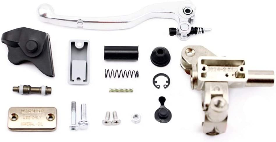 Levier dembrayage Moto Gauche Embrayage hydraulique Ma/ître-Cylindre Fit for KTM EXC 125 150 200 250 300 350 400 450 Motos Accessoriess dembrayage Tuyau dhuile Tuyau Color : Clutch Master Cylind