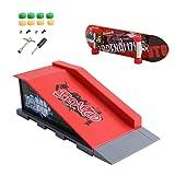 Autone Skate Park Rampa Piezas A-F para tabla de dedos Tech Deck Fingerboard Ultimate Parks (B)