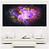 YANLIFBH Toile Art Print Postes Images Colorées Pour Salon Paysage Peinture-60x120cm Sin Marco