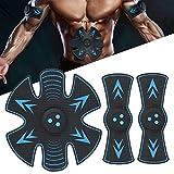 Electroestimulador Muscular Abdominales, para la Cadera Mujer USB Recargable, Estimulador Muscular Ejercitar Gluteos, Hombre y Mujer