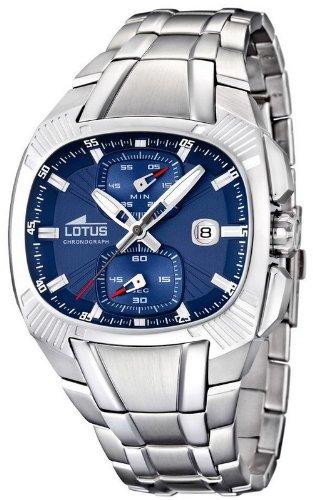 Lotus Chronograph 15752/A- Reloj Acero inoxidable, función Cronógrafo