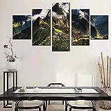 Anvaong Poster Und Kunstdrucke 150×80Cm Framed Moderne