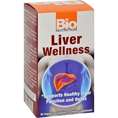 Bio Nutrition Liver Wellness - 60 Vegetarian Capsules
