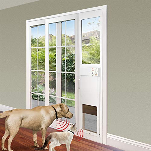 Power Pet Fully Automatic Sliding e-Glass Pet Door (Regular 75