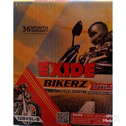 Exide Bikerz 5 Ah Battery