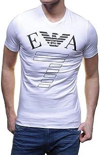 Armani EA7 V Neck T-Shirt For Men