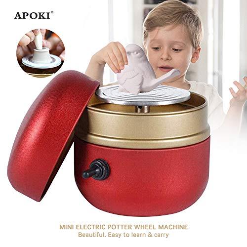 APOKI Torno Alfarero Electrico Mini