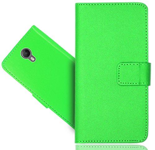 Wiko Jerry 2 Handy Tasche, FoneExpert® Wallet Hülle Cover Premium Hüllen Etui Hülle Ledertasche Lederhülle Schutzhülle Für Wiko Jerry 2