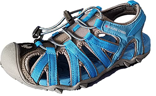 Grouse Creek G-Eleven Electric Blue - Sandalias Junior, Azul (azul eléctrico), 41...