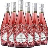 Sandara Rosado Espumoso 6 Botellas - 750 ml