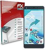 atFolix Schutzfolie kompatibel mit Archos Diamond 2 Plus Folie, ultraklare & Flexible FX Bildschirmschutzfolie (3X)