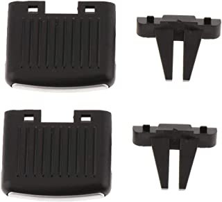 Gazechimp 3pc Onglets De Ventilation pour BMW X5 X6 pour BMW X5 E70 06-12, pour X6 E71 Kit De R/éparation De Clip De Languette De Sortie dair pour A//C