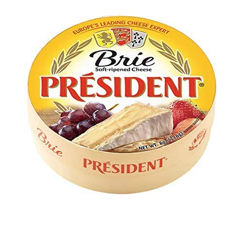 President Brie Cheese Round, 8 oz