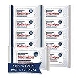 Refreshing Wet Wipes Travel Size Alcohol-Free Wipe Sanitizes/Cleans/Deodorizes Bulk Wipes (100…