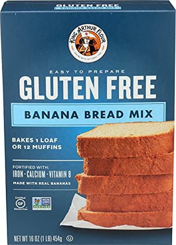 King Arthur Mix Bread GF Banana, Gluten Free, 16 Ounce