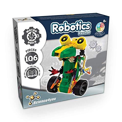 Science4you-Robotics Rexbot-Juguete Científico y Educativo Stem para Niños +8 Años, Multicolor (80002227)