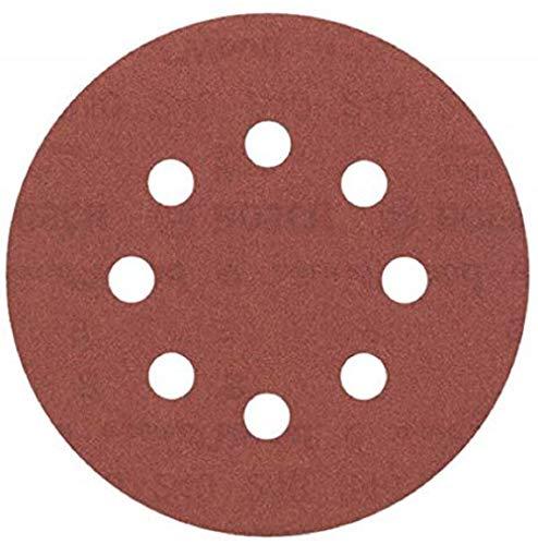 Bosch Professional Schleifblatt für Exzenterschleifer Holz und Farbe (5 Stück, Ø 125 mm, Körnung 240, C430)