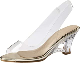 KemeKiss Women Fashion Summer Shoes Wedges Heels Pumps