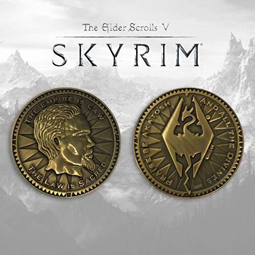 Fanattik- Elder Scrolls-Flip Coin-The Empire is Law
