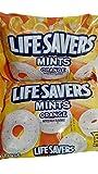 Lifesavers Orange Mints - 13 oz bag - Individually Wrapped (Pack of 2)