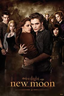 The Twilight Saga: New Moon - Movie Poster (Regular Style - Bella & The Cullens) (Size: 24