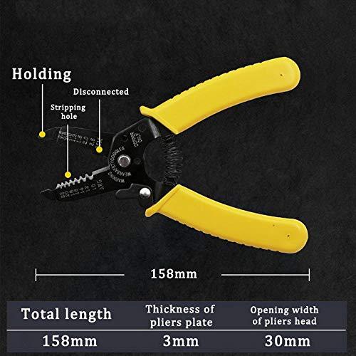 Multi Tools Zange Stripper Cutter Kabel Draht Fähigkeit Tragbarer Draht Stripper Messer Crimper Akutomatische elektrische Reparaturwerkzeuge-B1