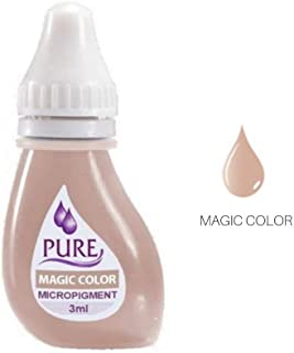 Micropigment PURE MAGIC CORRECTORS Permanent Makeup Microblading Supplies Eyebrow Shading Micropigmentation Cosmetic Tattoo Ink Lip Eyeliner Ombre Feathering Hair Stroke 6-PACK 3ml Each
