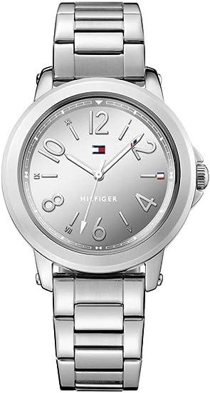Tommy Hilfiger 1781750, Reloj para Mujer, Correa de Acero Inoxidable