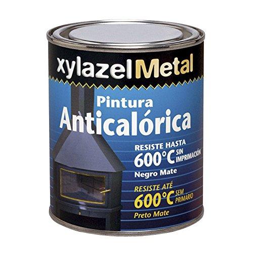 XYLAZEL 6070102 Pintura anticalorica 375, Negro, 375ml