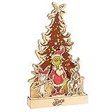 Department 56 Flourish Dr. Seuss The Grinch Tree Lit Figurine, 15 Inch, Multicolor